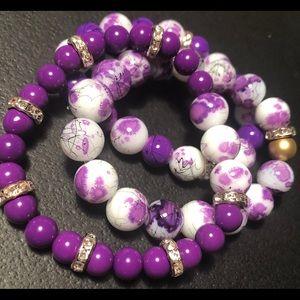 Bracelets and waist beads